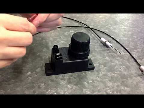 Instructions to connect and troubleshoot a 9 volt igniter ... on