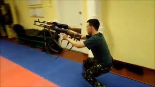 ЦУНАМИ. Аттестация (Физподготовка и спецакробатика) после ТРЕХ месяцев обучения.