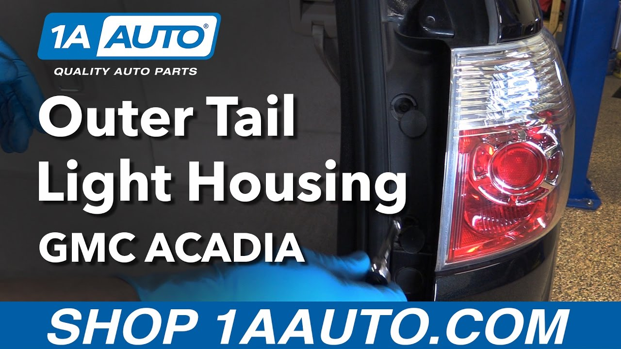 2012 Gmc Acadia Tail Light Wiring Reinvent Your Diagram This Old Trailer Lights Etrailercom Youtube How To Replace Install Outer Housing 07 12 Buy Rh Com
