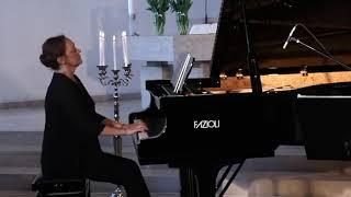J.S. Bach - Goldberg variations, BWV 988: Aria - Claire Pasquier FAZIOLI 278 #livestream