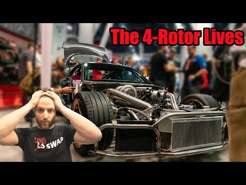 Rob Dahm Discusses His 4 Rotor RX-7 At SEMA