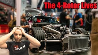 Rob Dahm Discusses His 4 Rotor RX-7 At SEMA