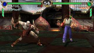 Soul Calibur Broken Destiny - HD Test (Kratos) (PSP)