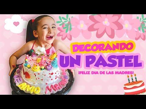 decorando-un-pastel-para-mamÁ-🎂💓-feliz-dia-de-las-madres!