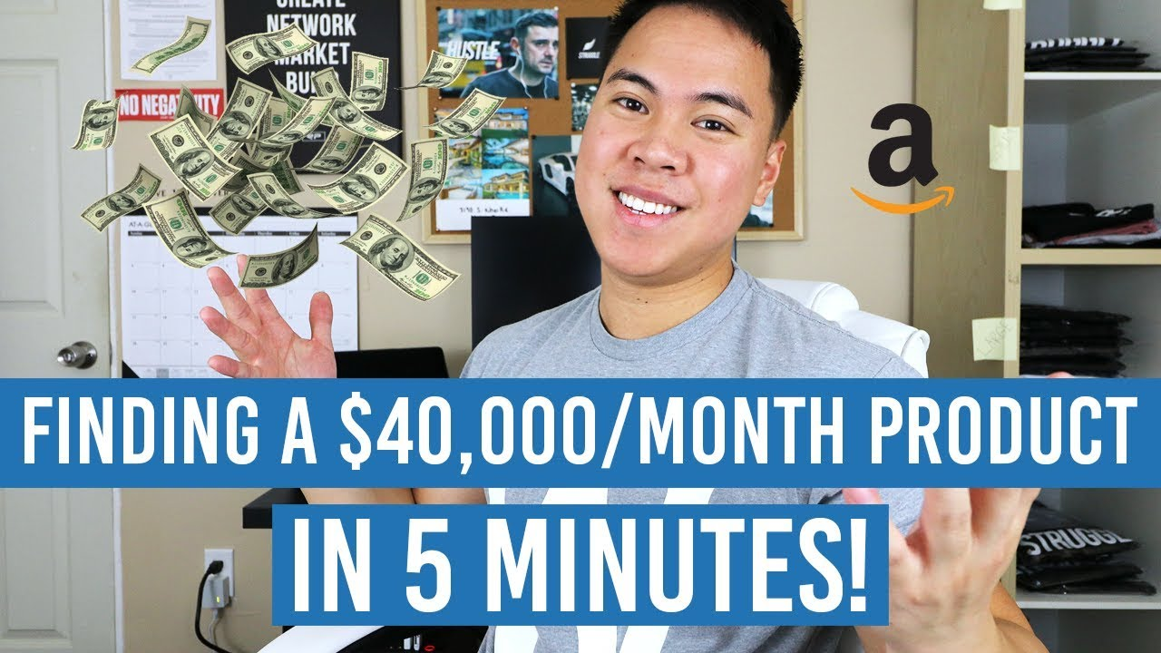 CRAZY Amazon FBA Product Research Technique That Found Me A 40000Month Product In 5 Minutes