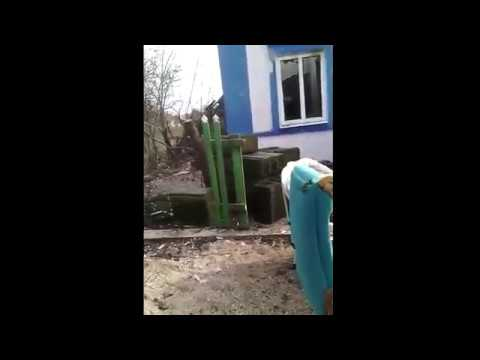 [NTU] Ужасное зрелище.  Бой в Широкино.  Снято со стороны Ополчения. Украина Сегодня Новости 2015