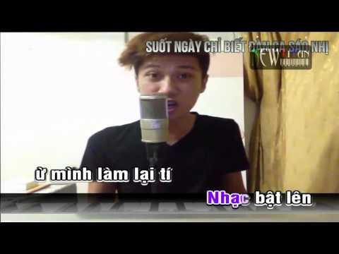 Karaoke Con Nhà Nghèo   Leg    NewTitan    Karaoke HD Online