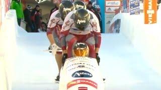 FIBT | 4-Man Bobsleigh World Cup 2013/2014 - St. Moritz Heat 1