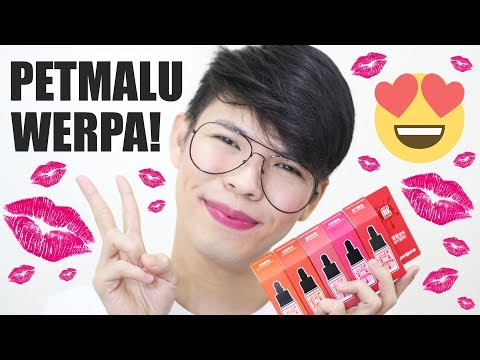 OMG!!! 450 PESOS NA LIP TINT?! PERIPERA AIRY INK VELVET REVIEW (Philippines) | Kenny Manalad
