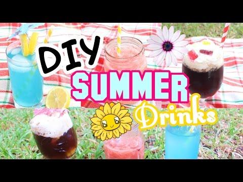 DIY Easy Summer Drinks Ideas!   DIYwithKIM