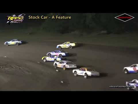 Stock Car Features - Rapid Speedway - 8/31/18