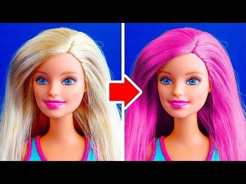 26 Nowych 5 Minutowych Pomysłów Dla Barbie Youtube