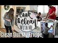 COOK & CLEAN WITH ME 2019 :: SPEED CLEANING MOTIVATION :: HUSBAND & SON COOK :: FRIDGE ORGANIZATION