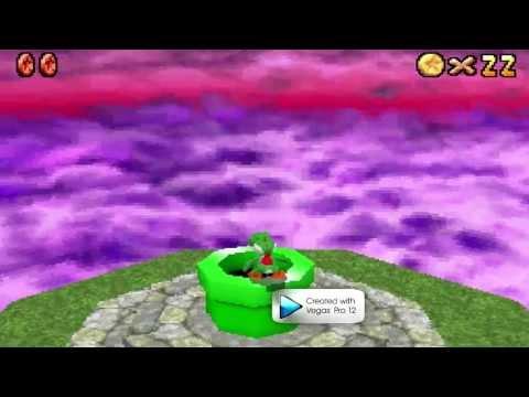 Super Mario 64 DS: Final + Ending without Mario, Luigi and Wario (Yoshi alone)