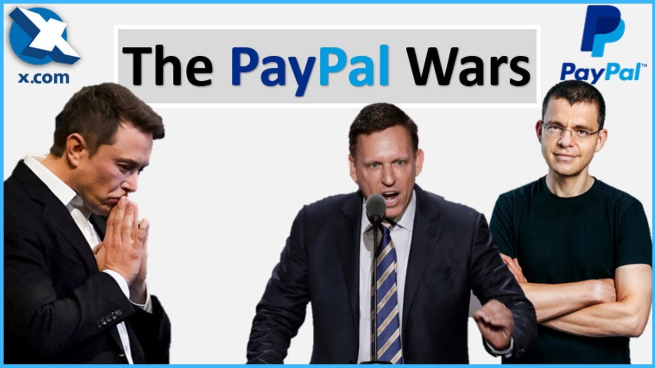 Elon Musk Vs Peter Thiel Who Made Paypal Successful The Paypal Mafia Youtube