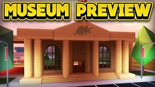 NEW DINOSAUR MUSEUM PREVIEW! (ROBLOX Jailbreak)