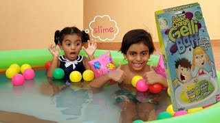 مسبح السلايم مسبح اطفال العاب اطفال Inflatable Pool Youtube