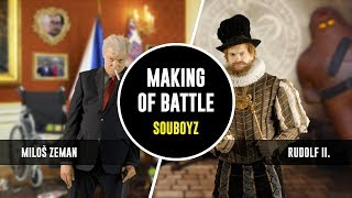 Miloš Zeman vs. Rudolf II. - SOUBOYZ making of