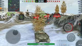 Wot Blitz Мини обзор ИС-5 или как фармит ИС-5)