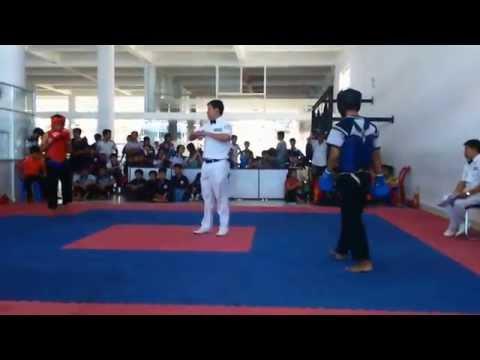 thi đấu đối kháng nam võ cổ truyền VN 2015