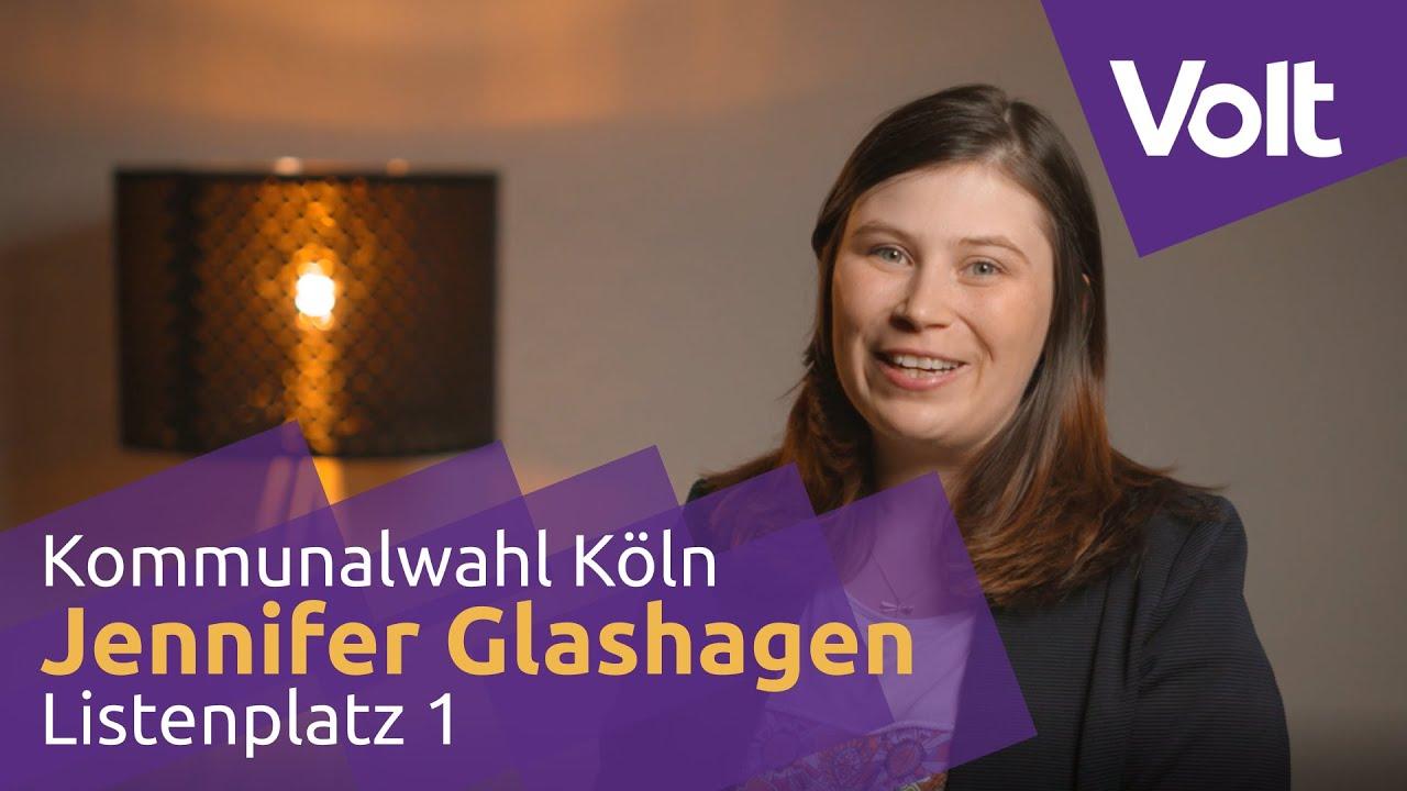 YouTube: Volt Köln Kommunalwahl 2020 - Jennifer Glashagen für den Stadtrat! #VoteVolt