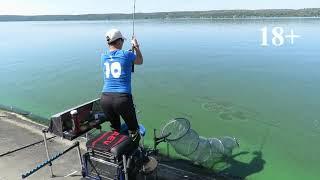 Как не надо ловить рыбу. Ушел трофей.