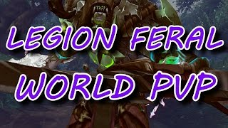 Video Feral Druid World PvP 1v1 Montage in WoW Legion 7.1 download MP3, 3GP, MP4, WEBM, AVI, FLV Agustus 2018