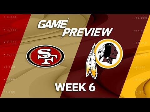 San Francisco 49ers vs. Washington Redskins | Week 6 Game Preview | Move the Sticks