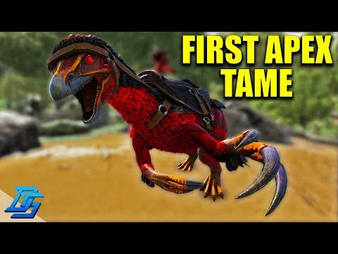 FIRST APEX TAME, APEX THERIZINO -ARK PRIMAL FEAR!- Ark Survival Evolved Modded-Lets Play-Pt.10