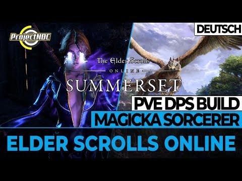 ESO - Magicka Zauberer: PVE DPS Build für Summerset (Deutsch)