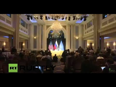 LIVE: Second day of meeting on Syrian conflict in Vienna: press conference