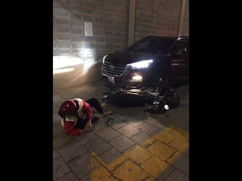 Full clip Chung Cư The Goldview Quận 4 đêm đêm 7/9/2019.xe oto tông vào 2 cụ già
