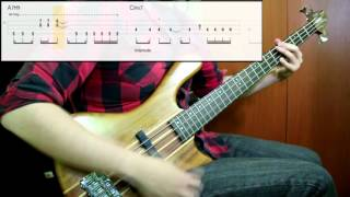 A Perfect Circle - Breña (Bass Cover) (Play Along Tabs In Video)