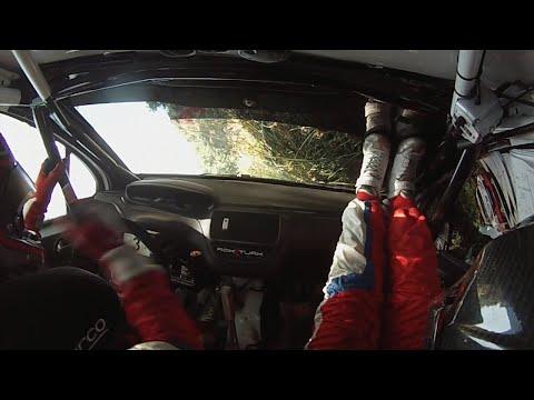 Rok Turk - Martina Lazar (Peugeot 208 R2) : 35. rally Sliven 2015 - SS 10 Rakovo 1 - crash