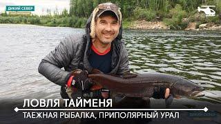 Ловля хариуса тайменя с заброской вертолетом на Приполярный Урал  Таежная рыбалка