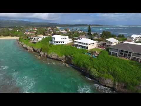 Aerial Tour of Laie on Oahu's North Shore