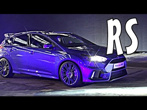 2016 ford focus rs launch w ken block youtube. Black Bedroom Furniture Sets. Home Design Ideas