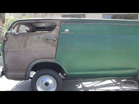 1964 Chevy Chopped Rear Engine Rat Rod Van - Eastwood