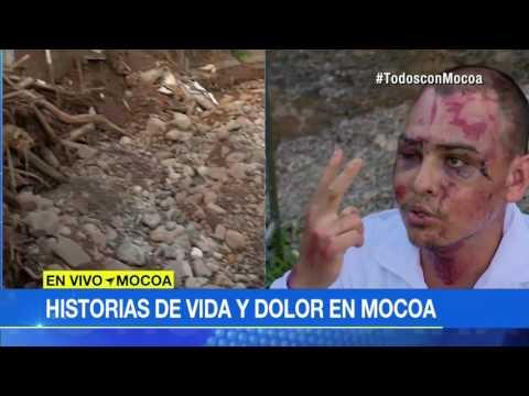 Se salvó de avalancha en Mocoa, pero su hijo murió y su esposa desapareció