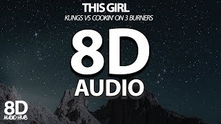 [8D Audio] Kungs vs Cookin' on 3 Burners - This Girl 🎧 USE HEADPHONES 🎧