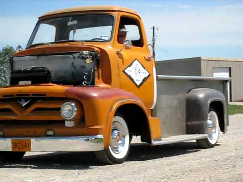 55 Ford Coe Truck Youtube