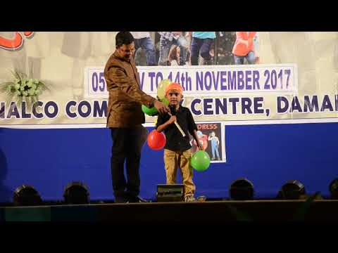 FANCY DRESS COMPETITION ALL PARTICIPATES VIDEO NALCO COMMUNITY CENTER