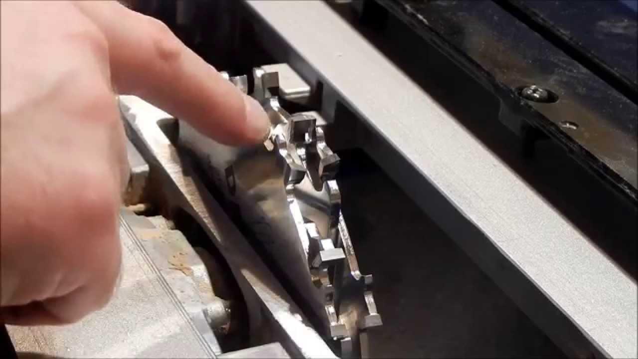 Торцовочная каретка с подставкой для Makita 2704(1). - YouTube