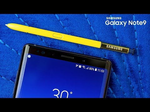 Samsung Galaxy Note 9 - TOP 9 FEATURES