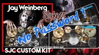 (Free) Slipknot - Jay Weinberg Drum Kit Into Real Drum App Preset Kit (No Password! |TUGS'TUPAKK!