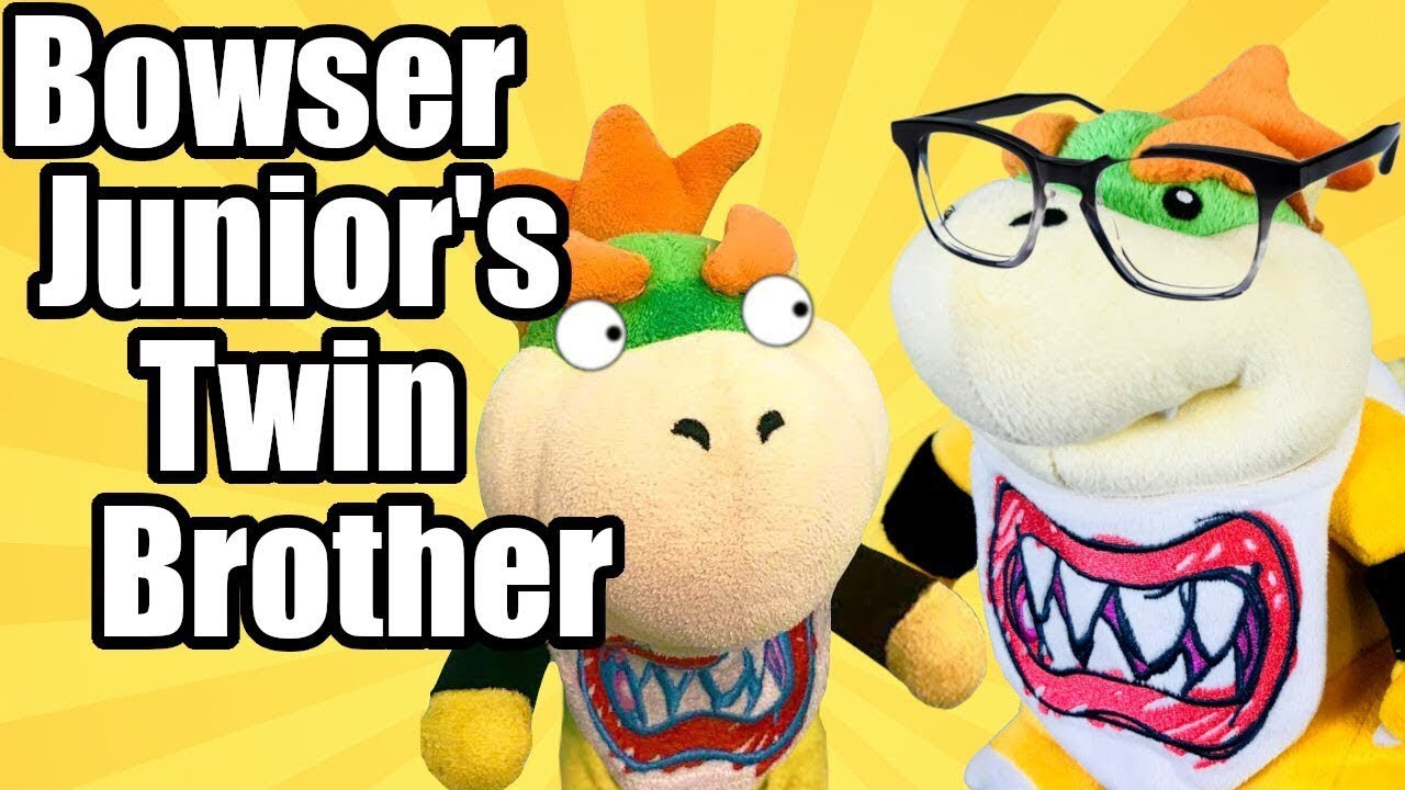 Mario Plush Bowser Junior S Twin Brother