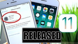 iOS 11.0.1 is Out what's New ?