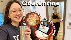 QUARANTINE DAY IN THE LIFE: MY COFFEE RECIPE, ANIMAL CROSSING | ASHLEY SANDRINE