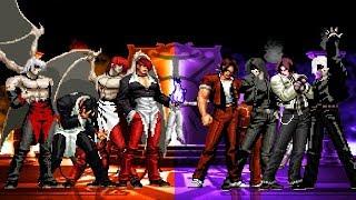 KOF Mugen Iori-Element Team VS Kyo-Element Team