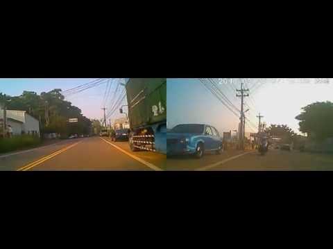 馬路三寶 逆向超車 你不先預警剎車 往右閃  真的就車禍發生